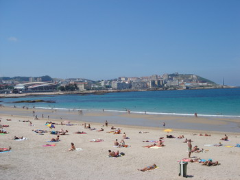 Beach at La Coruna