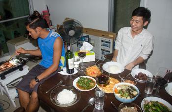 Thai cooking lessons for Ah roy thai cuisine